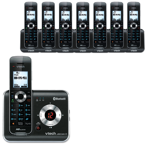how to connect vtech cordless phone to base