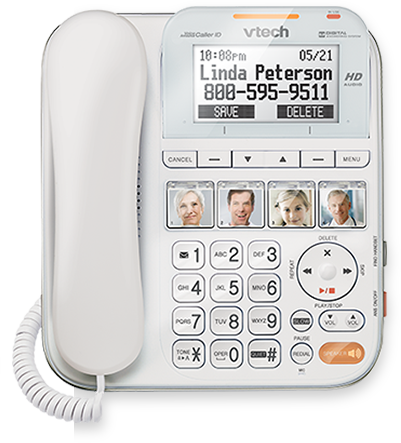 Big-Button Corded Phone