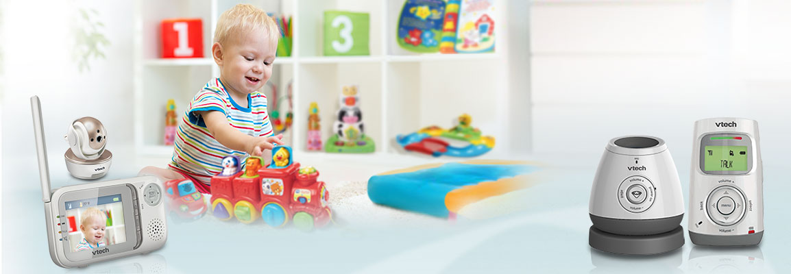 baby monitor official vtech safe sound audio and video baby monitors. Black Bedroom Furniture Sets. Home Design Ideas