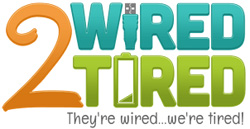 2 Wired 2 Tired Logo