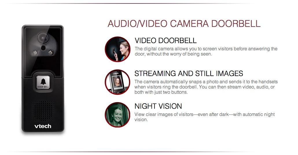 VTech cordless video camera phone