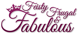 Feisty, Frugal and Fabulous Logo