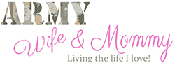 Army Wife and Mom Logo