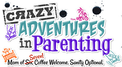 Crazy Adventures in Parenting Logo