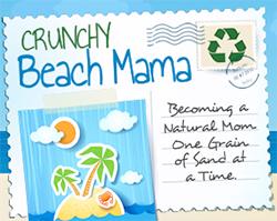 Crunchy Beach Mama Logo