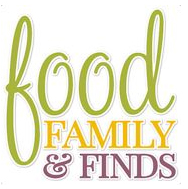 Food, Family and Finds Logo
