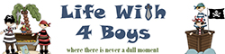 Life with 4 Boys Logo
