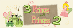 3 Princes and a Princess Logo