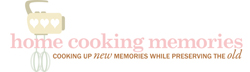 home cooking memories Logo