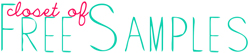 Closet of Free Samples Logo