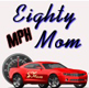 Eighty MPH Mom Logo