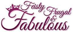 Feisty, Frugal, and Fabulous Logo