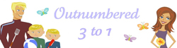 Outnumbered 3 to 1 Logo