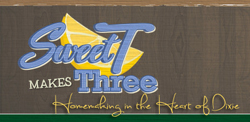 Sweet makes Three Logo