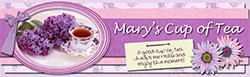 Mary's Cup of Tea Logo