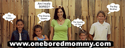One Bored Mommy Logo