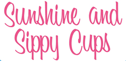 Sunshine and Sippy Cups Logo