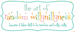 The Art of Willynillyness Logo