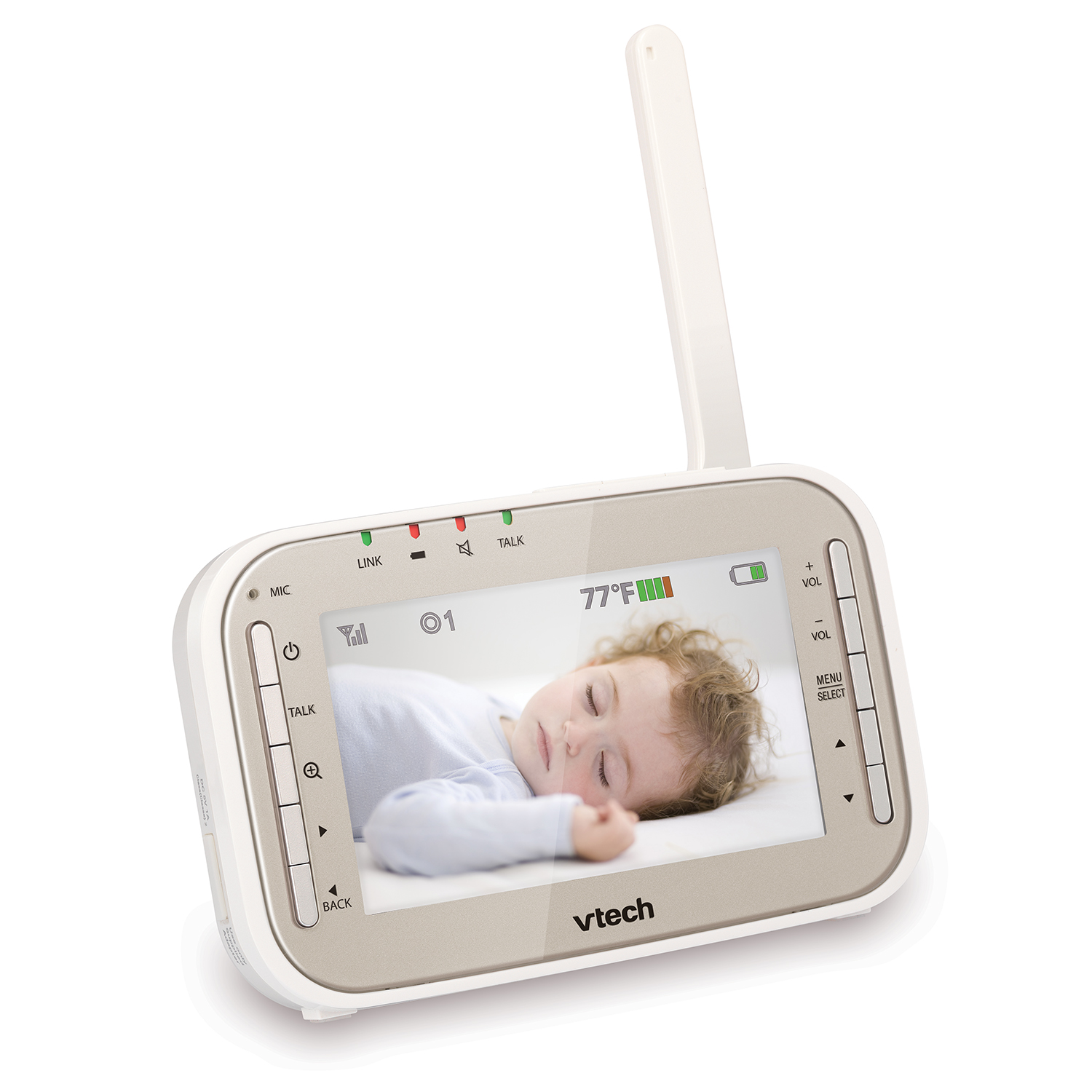 baby monitor video baby monitor with night vision pan tilt zoom and two way audio vm343. Black Bedroom Furniture Sets. Home Design Ideas