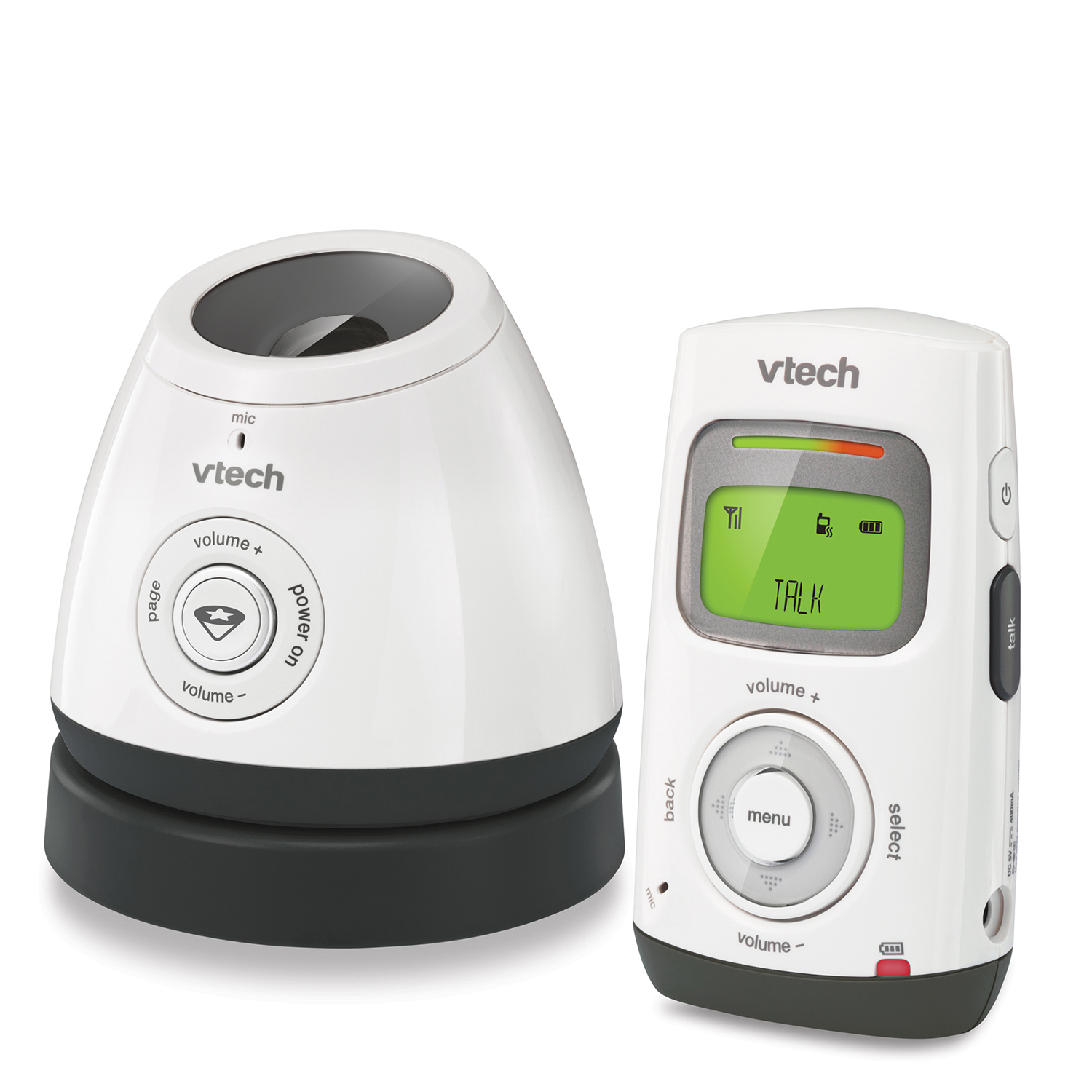 VTech DM222 Digital Audio Baby Monitor with Glow-on-Ceiling Night Light and One Parent Unit