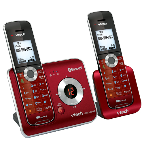 4 Handset Connect To Cell™ Answering System With Caller ID