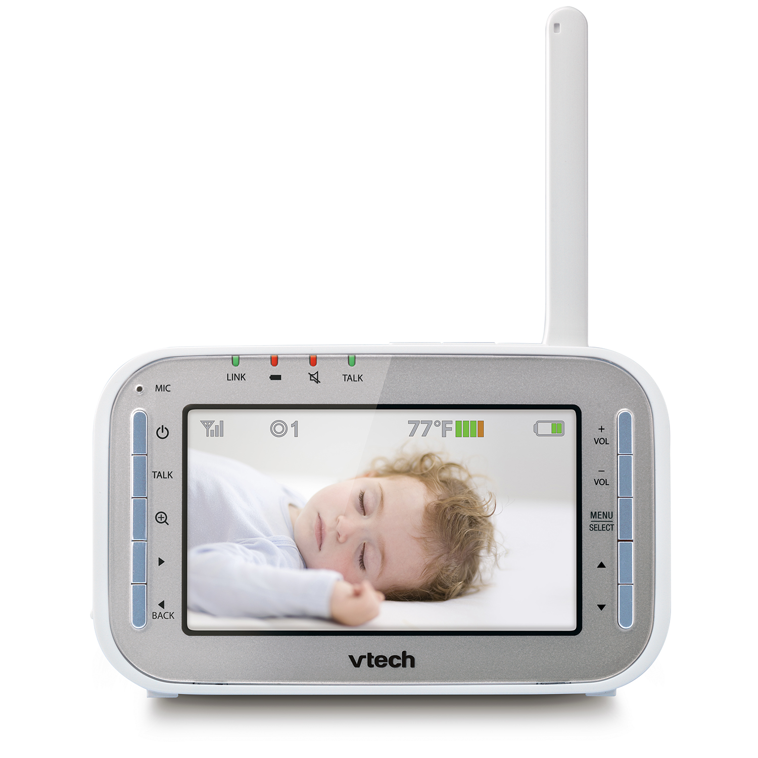 baby monitor full color video monitor with two cameras vm341 2 vtech c. Black Bedroom Furniture Sets. Home Design Ideas