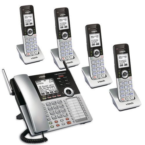 4 Line Small Business Phone System Mobility Bundle 1