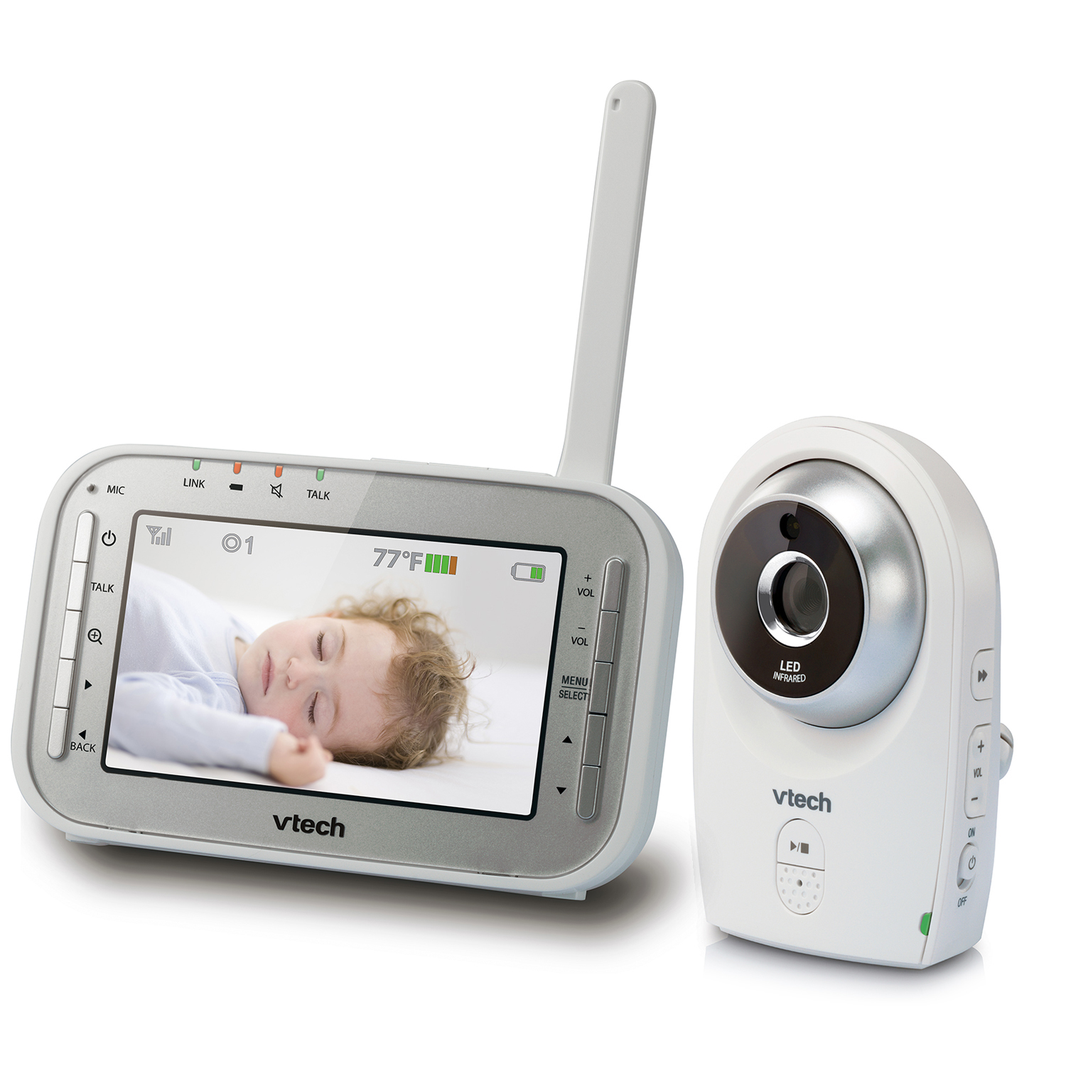 baby monitor full color video monitor vm341 vtech cordless phones. Black Bedroom Furniture Sets. Home Design Ideas