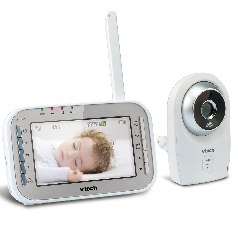 baby monitor full color video monitor vm341 vtech cordless phones. Black Bedroom Furniture Sets. Home Design Ideas
