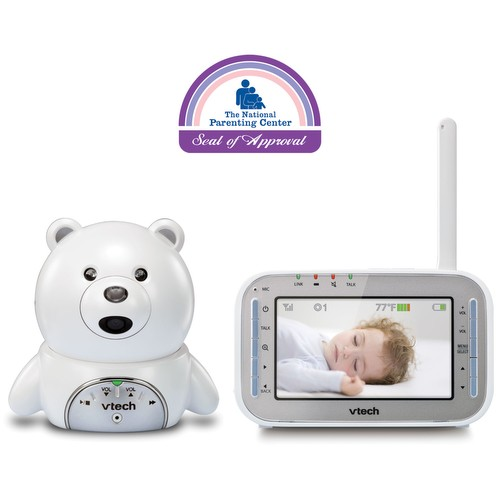 baby monitor bear expandable digital video baby monitor with automatic night vision vm346. Black Bedroom Furniture Sets. Home Design Ideas