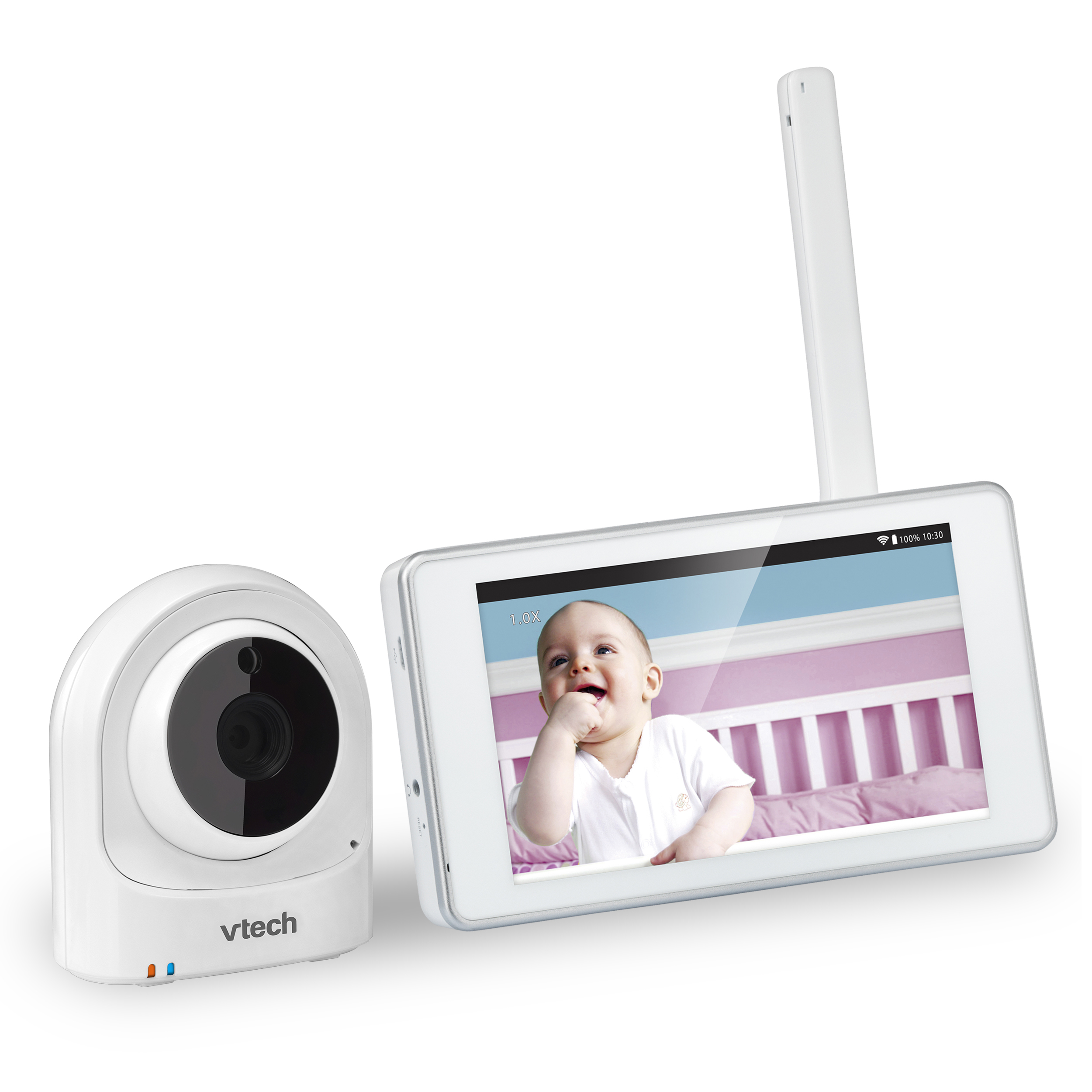 expandable wireless hd video baby monitor with 1 wi fi camera and 5 touch screen vm981. Black Bedroom Furniture Sets. Home Design Ideas