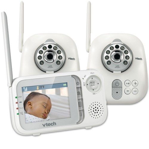 Baby Monitor Video Baby Monitor With Two Cameras And