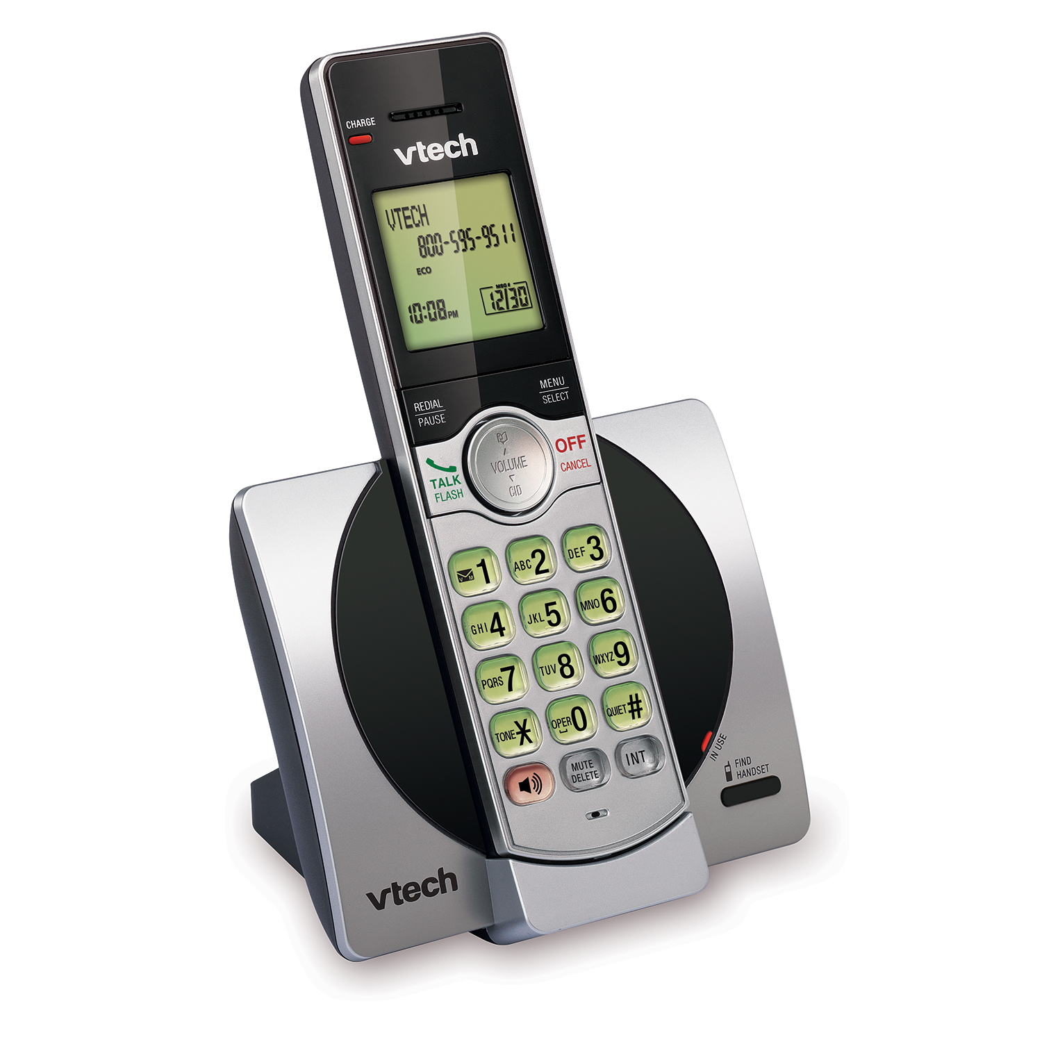 cordless phone with caller id call waiting cs6919 vtech cordless phones. Black Bedroom Furniture Sets. Home Design Ideas