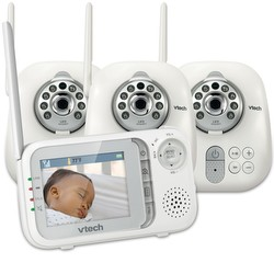Baby Monitor Official Vtech 174 Safe Amp Sound Video Baby Monitors