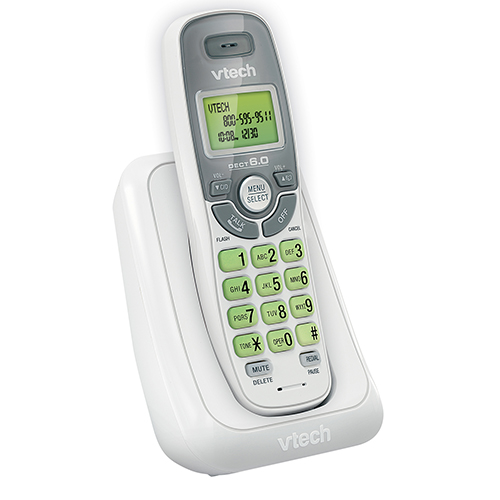cordless phone with caller id call waiting cs6114 vtech cordless phones. Black Bedroom Furniture Sets. Home Design Ideas