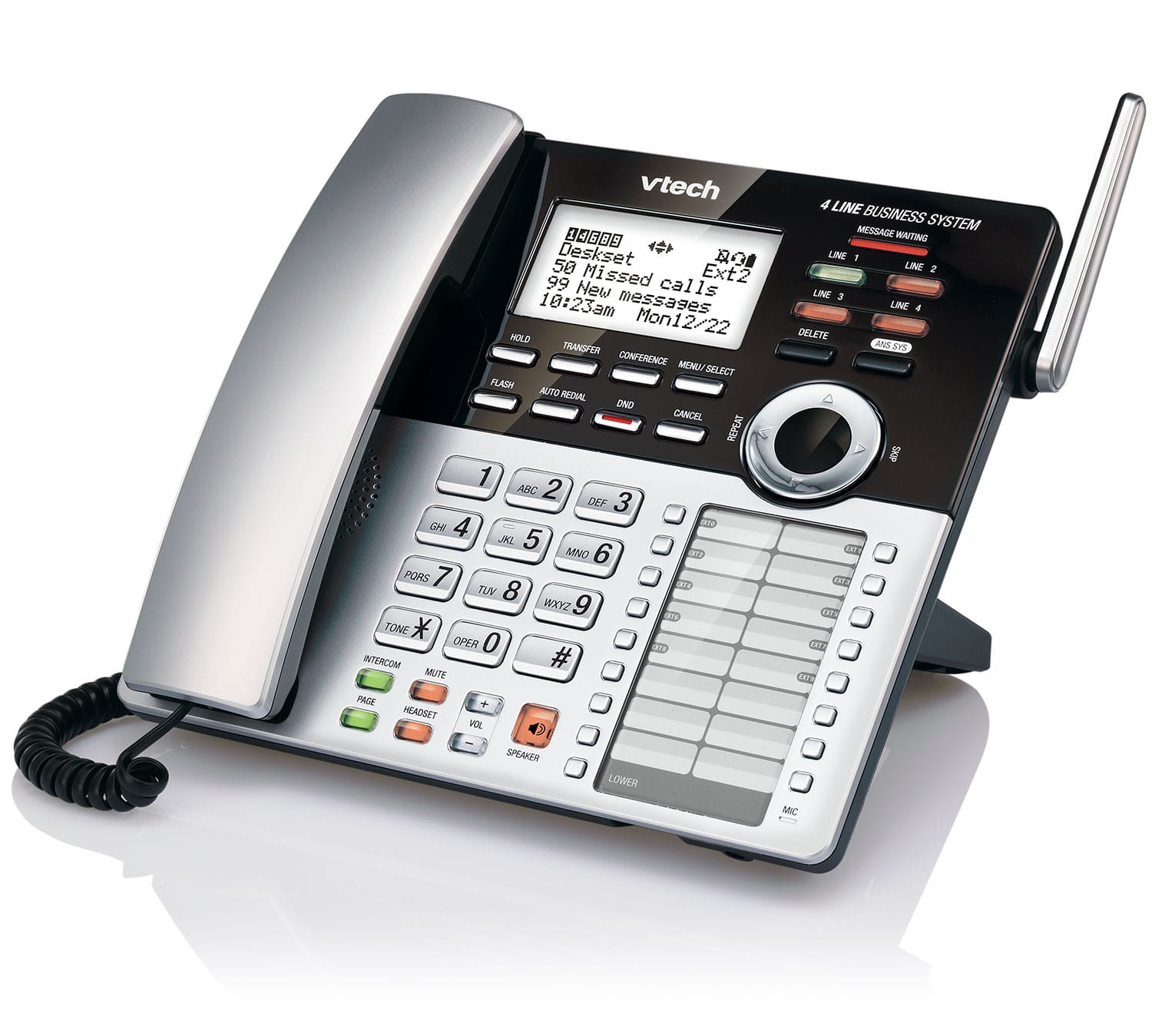Business Contact: 4-Line Small Business Phone System Starter Bundle