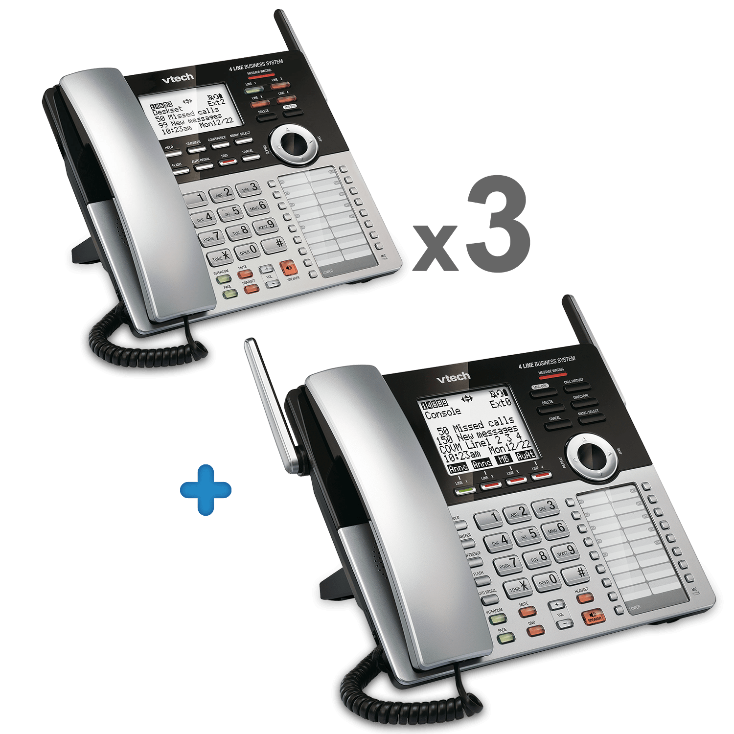 4 Line Small Business Phone System Starter Bundle