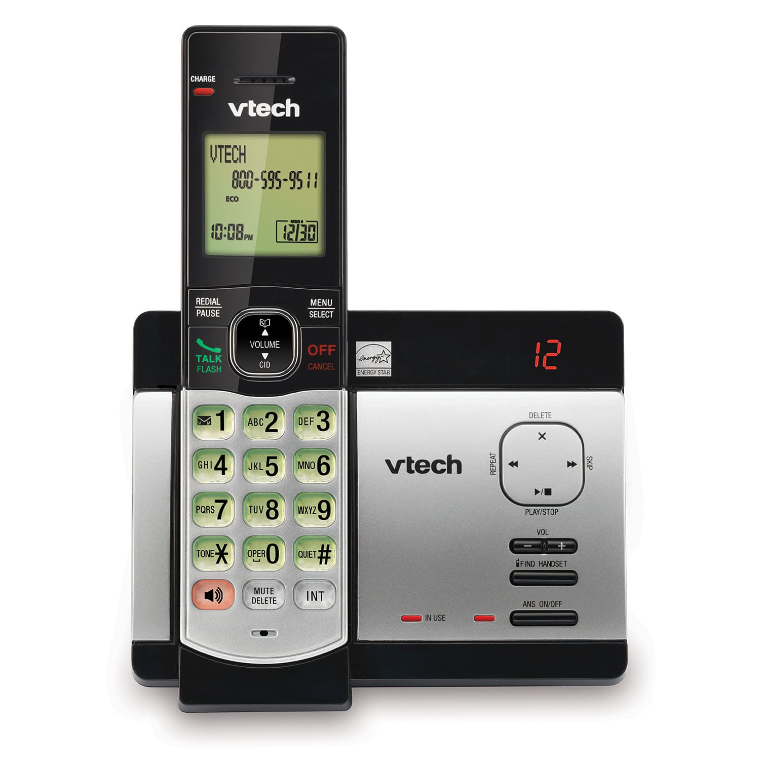 Cordless Phone System With Caller Id Call Waiting Cs5129