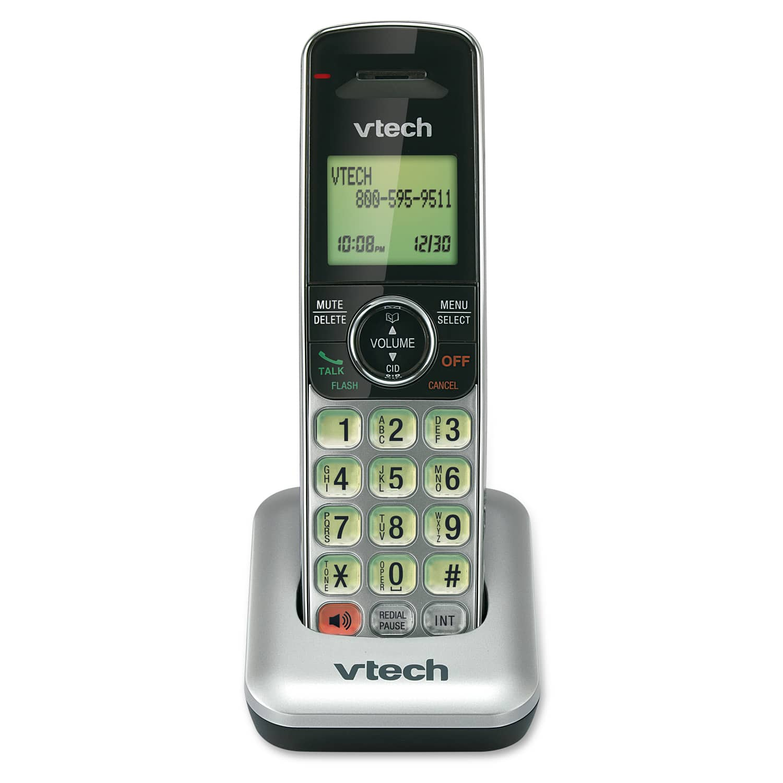 accessory handset with caller id call waiting cs6409 vtech rh vtechphones com VTech Cs6529 VTech CS6419 Portable Telephones for Home