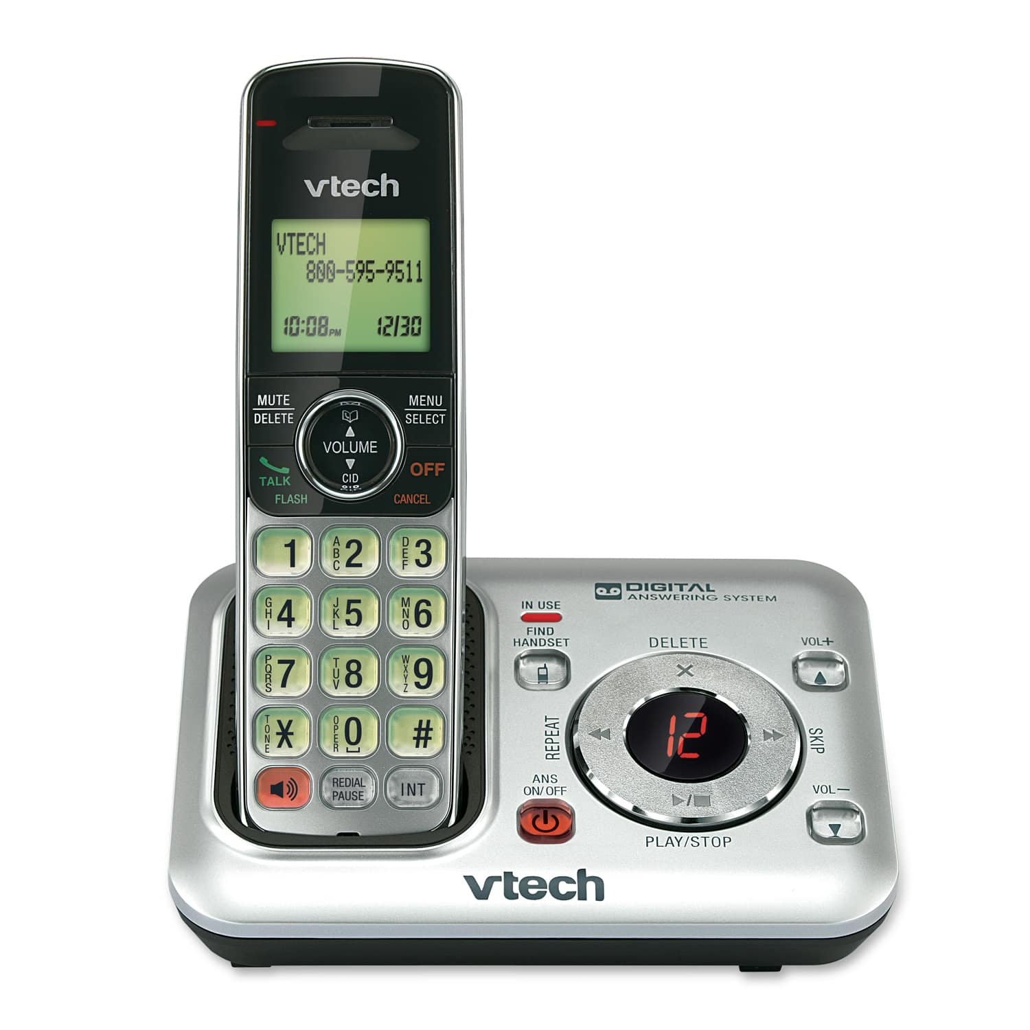 cordless answering system with caller id call waiting cs6429 rh vtechphones com vtech phone manual cs6199-4 vtech phone manual cs6419-2