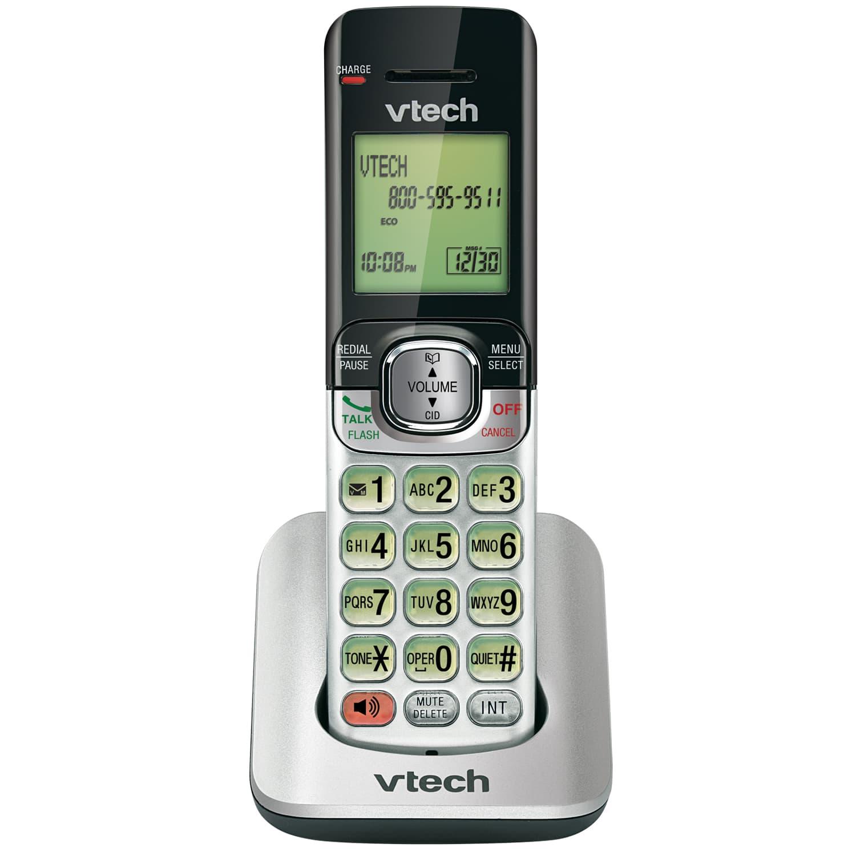 accessory handset with caller id call waiting cs6509 vtech rh vtechphones com vtech phone manual cs6519-15 vtech phone manual cs6929