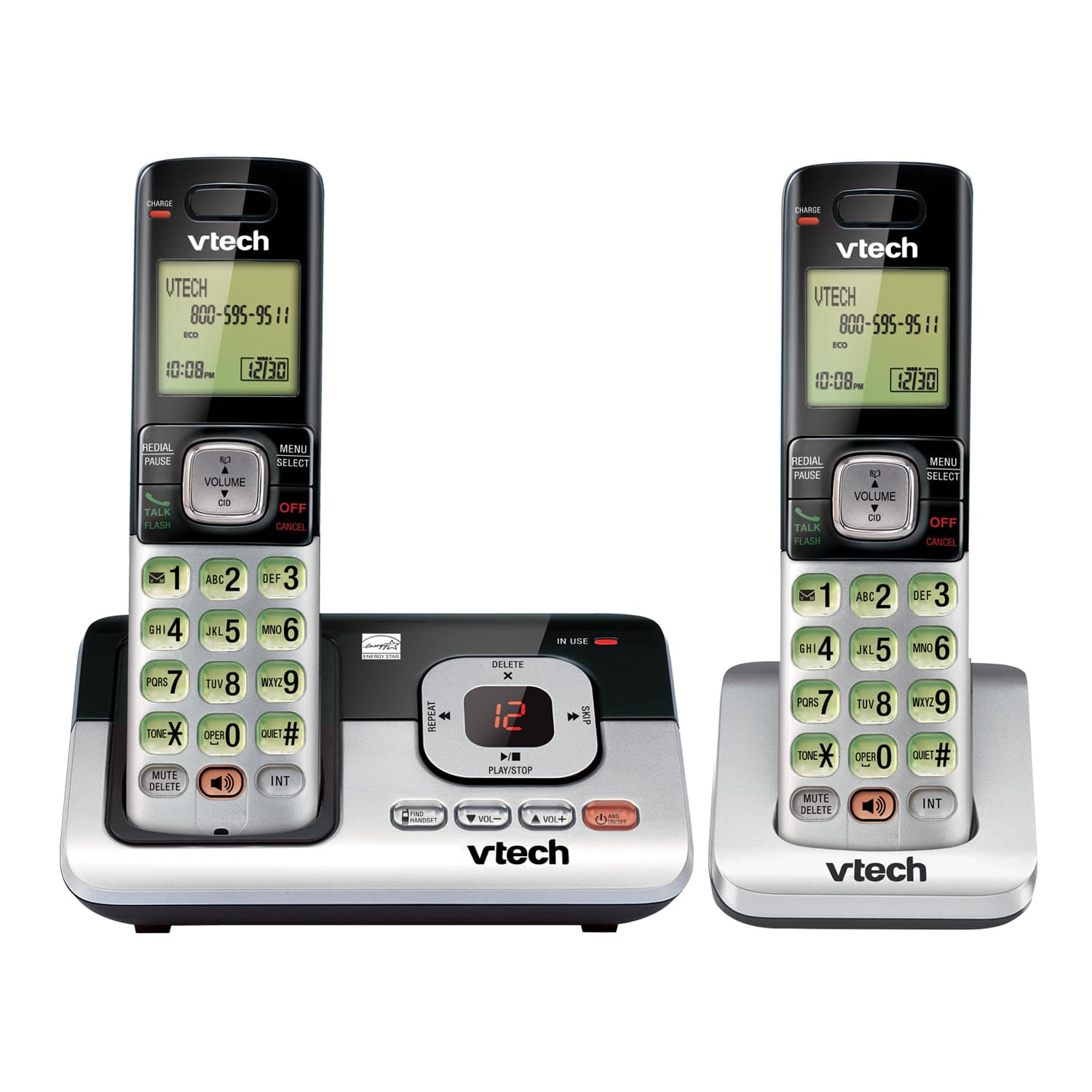2 handset answering system with caller id call waiting cs6829 2 rh vtechphones com vtech cordless phone manual cs6829 vtech cordless phone manual dect 6.0