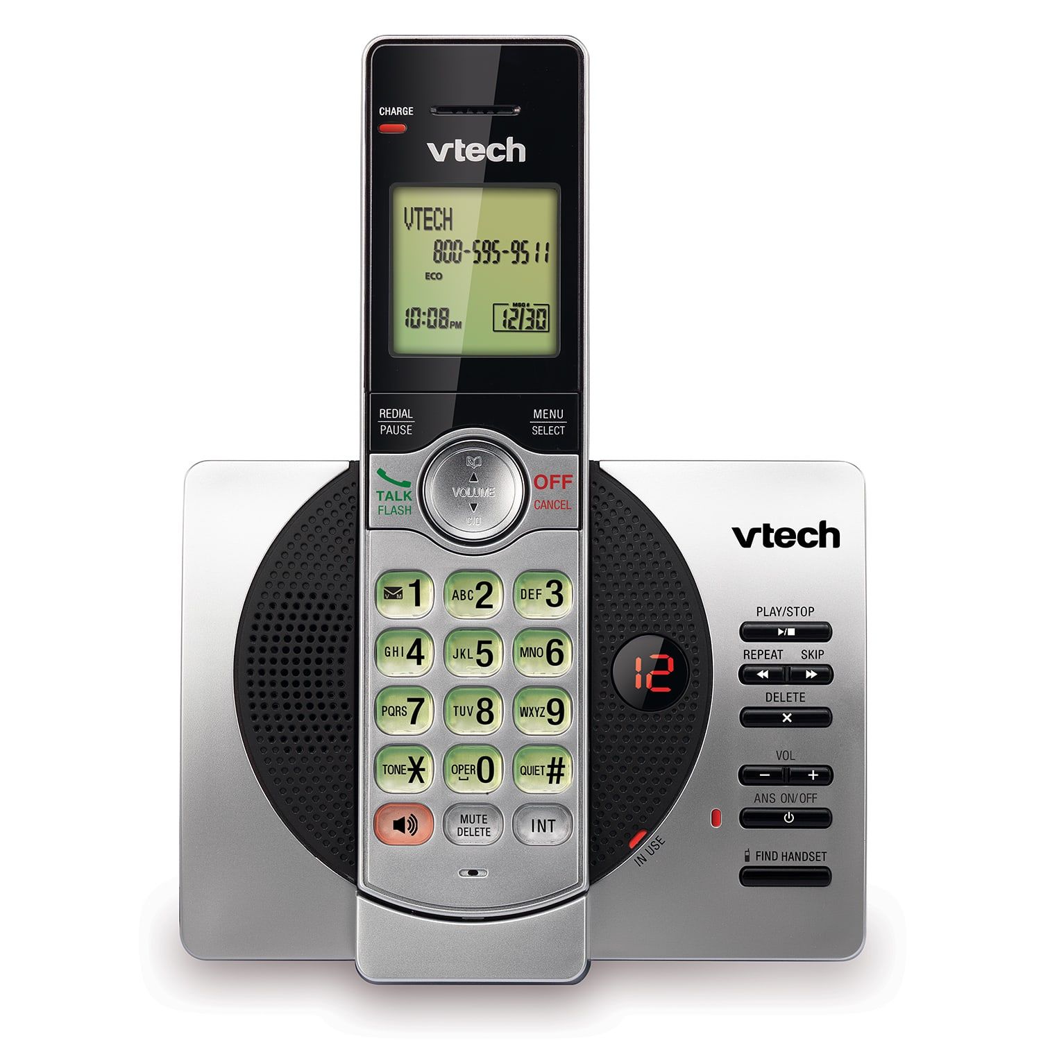 cordless answering system with caller id call waiting cs6929 rh vtechphones com vtech cordless phone owner's manual VTech Cordless Phone User Manual