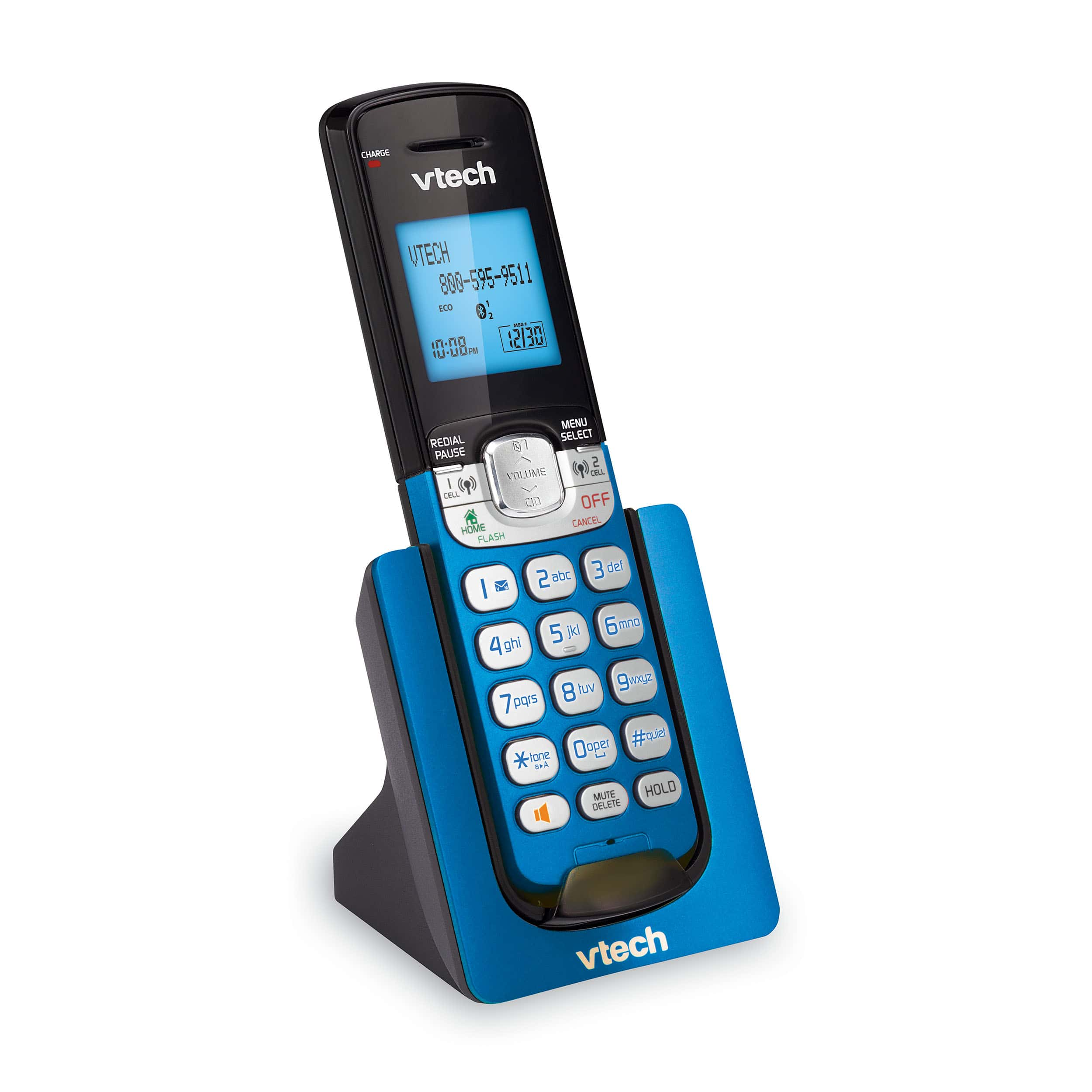 Home communications communications communication by telephone - 4 Handset Connect To Cell Phone System With Caller Id Call Waiting Ds667v 2f Three Ds607v 1f Vtech Cordless Phones