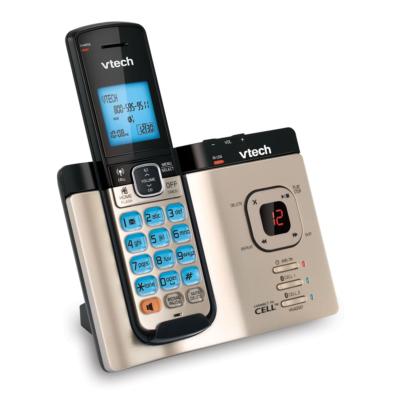 Call Waiting  Ds662v1g Steel  Plate  Vtech� Cordless Phones
